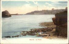 Biarritz France Lighthouse  Le Phare c1905 UDB Postcard