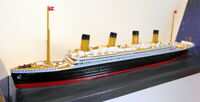 Claytown 1/1136 Scale Plastic - 50003 Titanic The Unsinkable Ship of Dreams
