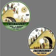 FREEMASONRY VIDEO DVD +EBOOKS RESOURCE DVD MASONIC HISTORY AIMS & SECRETS ++ NEW