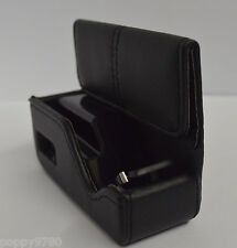 OEM CHARGING LEATHER CASE CHARGER POUCH FOR PLANTRONICS 975 BLUETOOTH