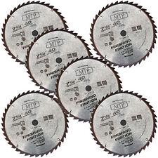 """6x  7-1/4"""" inch 40T Carbide Tipped Circular Saw Blade fit Bosch Dewalt Makita"""