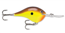 "Rapala Dives To 14 ""Chartreuse Brown"""