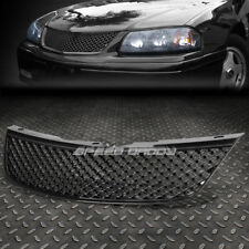 LUXURY FRONT UPPER BUMPER/HOOD MESH ABS GRILL/GRILLE/FRAME 00-05 CHEVY IMPALA SS