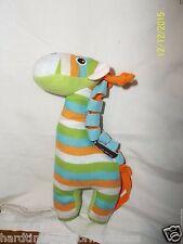 "Yookidoo Giraffe Rattle Plush 8"""