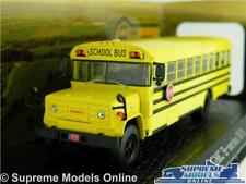 GMC B SERIES MODEL COACH BUS AMERICAN SCHOOL 1:76 SCALE ATLAS USA 1979 YELLOW K8
