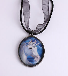 Unicorn Pendant Necklace 'Sacred One' Design by Lisa Parker