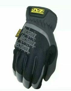 Mechanix Wear, Fast Fit Black Work Gloves touchscreen capable 2 pack