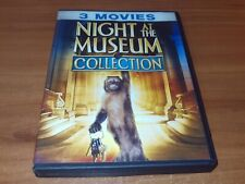 Night at the Museum Collection (DVD, 2017, 3-Disc Set Widescreen) 1 2 3