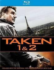 Taken 1  2 (Blu-ray Disc, 2014, 2-Disc Set)