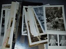 Vintage Black & White Photo Lot of 50 Kids Children Playing School Pictures Misc
