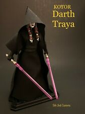 STAR WARS CUSTOM KOTOR DARTH TRAYA SITH JEDI CUSTOMS
