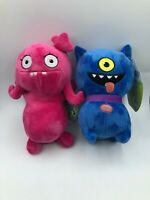 Uglydolls Movie Ugly Dolls Blue Dog Moxy Pink Plush Kids Soft Stuffed Toy Animal