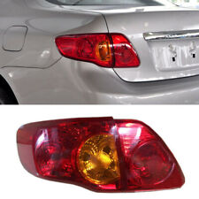 Rear Trunk Halogen Taillights Replacement Reflector Bumper For Toyota Corolla