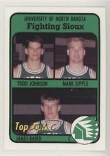 1991 University of North Dakota Fighting Sioux Team Issue Todd Johnson #5