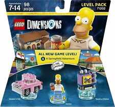 LEGO DIMENSIONS The Movie Level Pack Homer's Car Taunt-o-vision Simpsons 71202