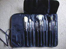 ROYAL COSMETIC CONNECTIONS MAKE-UP COSMETIC BRUSHES SET IN WRAP BAG - NEW