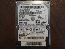 "Samsung HM040GI (HM040G1/D) REV.B FW:AA100-12 M80S 40gb 2.5"" Sata Hard Drive"