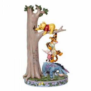 Disney Traditions Hundred Acre Caper Tree with Pooh & Friends Figurine 6008072