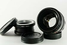 Helios 44-2 lens modified for Petzval style effect for Micro Four Thirds M4/3rds