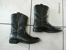 ARIAT Womens #14501 Black Leather Cowboy Western Boots Midcalf 6.5 B