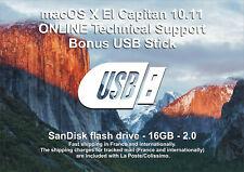 macOS X El Capitan 10.11 - ONLINE Technical Support - Bonus USB Stick