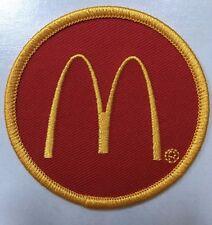 """McDonald's patch mcdonalds patch McDonalds patch 2.5"""" dia. golden arches patch"""