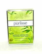 Purlisse Matcha Green Tea Antioxidant Sheet Mask 6 Pack New In Box  MSRP $36