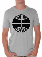 Basketball Dad T shirt Tops Sport Dad Basketball Father`s Day Gift