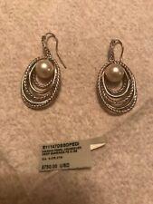 David Yurman Sterling Silver 925 with pearl and diamonds. NWT. Origin Price $750