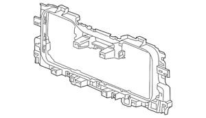 Genuine GM Radiator Support Baffle 23267374