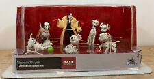 Disney Store 101 Dalamtians Figurine Playset 7 Piece Cake Toppers New