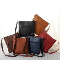 Fashion Womens Leather Satchel Cross Body Shoulder Messenger Bag Handbag Hoc