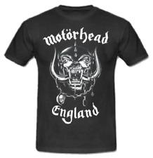 T-shirt MOTORHEAD Maglia Rock Band Registrata ed Approvata Music Maglietta