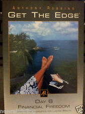 Anthony Robbins Get the Edge - Day 6 FINANCIAL FREEDOM  CD Worldwide Ship
