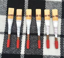 Uilleann Bagpipe Chanter Reeds of Spanish Cane 6 pcs/uillean pipes cane reeds