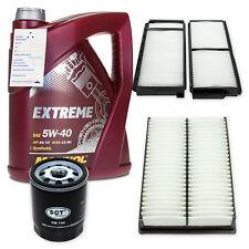 Filterpaket/ Filterset/ Filtersatz M68554XL für Mazda + 5L MANNOL 5W-40 Extreme