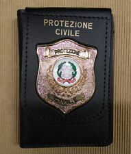 Portatessera Protezione Civile R.I. Repubblica Italiana Vega Holster