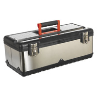 Sealey Stainless Steel Toolbox 580mm with Tote Tray - AP580S