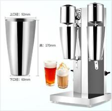 Commercial Stainless Steel Milk Shake Machine Double Head Drink Mixer m