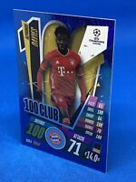 MATCH ATTAX EXTRA 2020/21 HUNDRED 100 CLUB ALPHONSO DAVIES BAYERN MUNICH