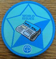 Girlguiding Guide Interest Badges (Old Program): Circular World Issues