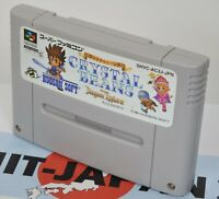 Super Famicom CRYSTAL BEANS Dungeon Explor Cartridge Only Nintendo 127 sfc