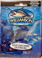 "3 Williamson Mackeral Duster Rig Mylar 4"" Tinsel KingFish Lure, Mahi, Bonita"