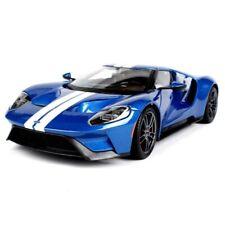 Maisto 1/18 2017 Ford GT Hardback Racing Diecast Car Model Blue