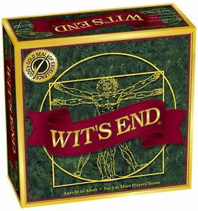 Wit's End - Brain Teasers and Mind Riddles Board Game