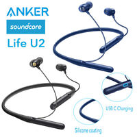 Anker Wireless Headphone Soundcore Life U2 Sports Earbuds Noise Cancelling IPX7