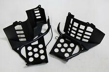 Black Heel Guards OEM footrest Yamaha Banshee left right nerf bars plastics B-7