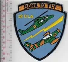 Belgium Royal Belgian Air Force RBAF BLA-98 Course Badge 1999 Born to Fly styl a