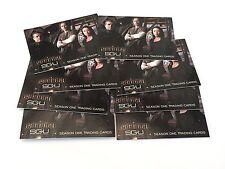 Job Lot Of 8 Stargate Universe Promo Trading Cards