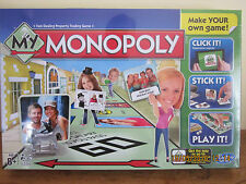 ~BN & SEALED MY MONOPOLY - CUSTOMISED GAME by PARKER BROTHERS/HASBRO - 2008~
